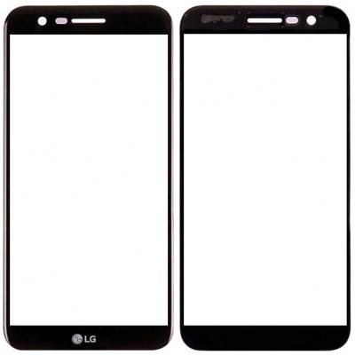 Сенсорное стекло (тачскрин) для LG K20 Plus, черное