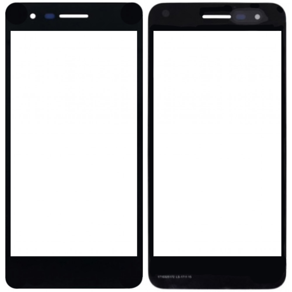 Сенсорное стекло (тачскрин) для LG K8 (2018), черное