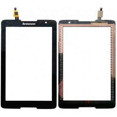 Сенсорное стекло (тачскрин) для Lenovo A5500, черное