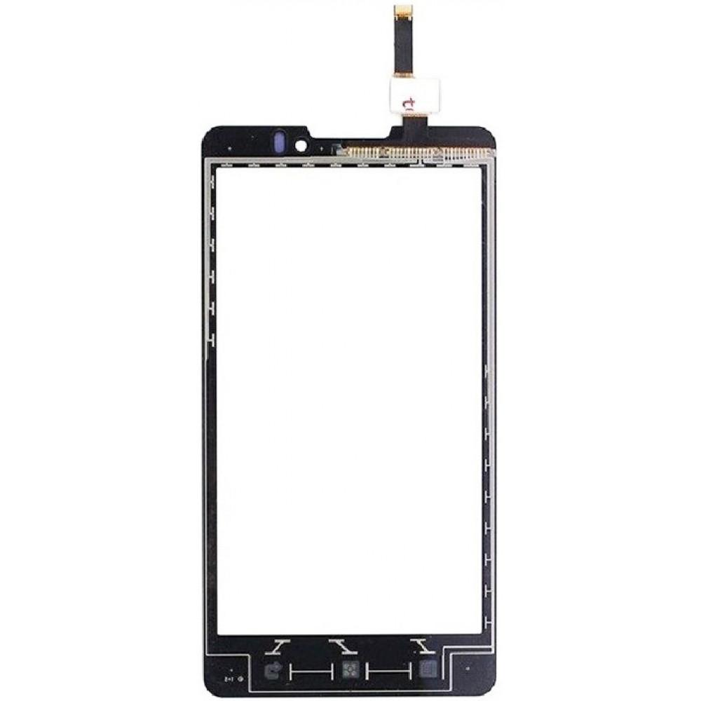 Сенсорное стекло (тачскрин) для Lenovo P780, черное