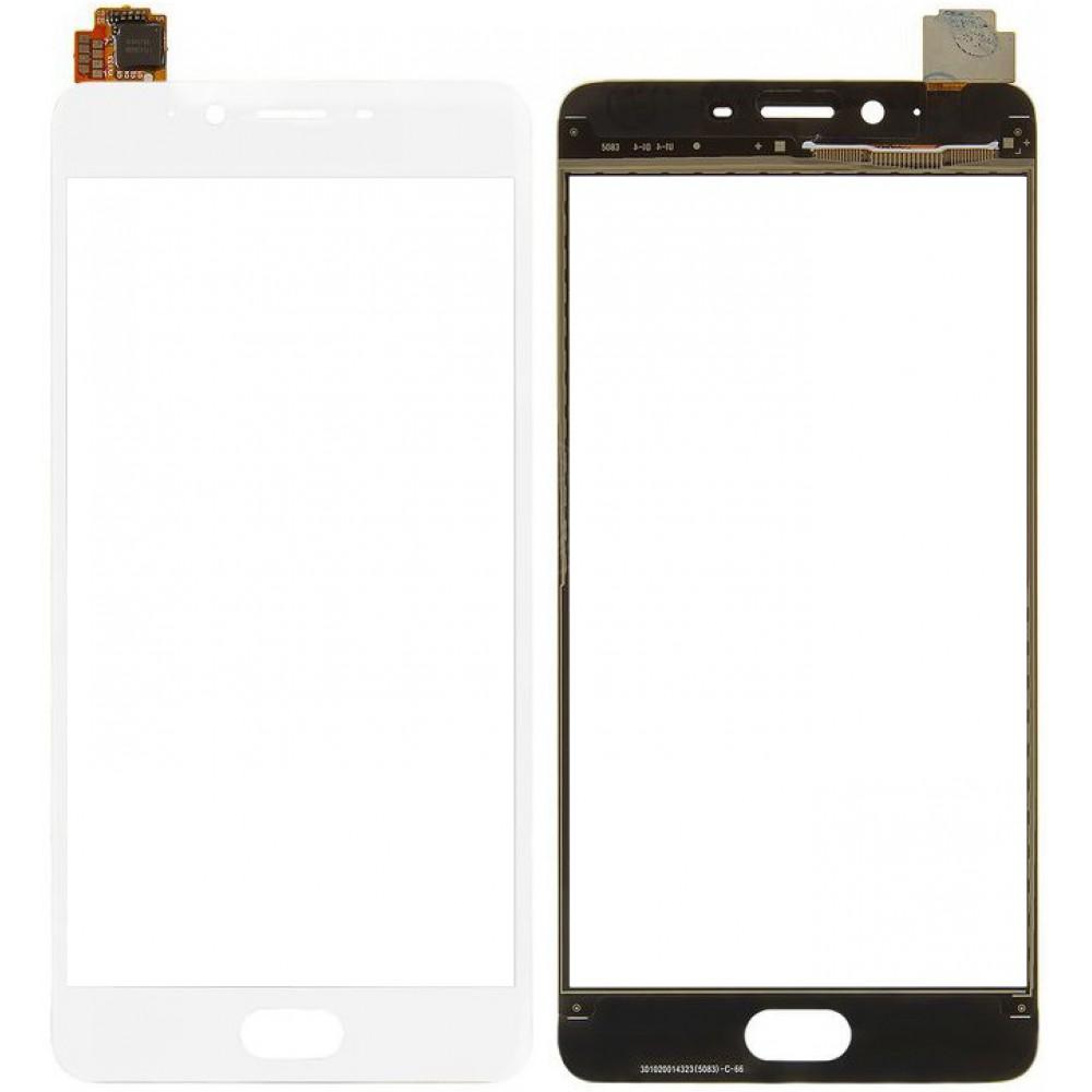 Сенсорное стекло (тачскрин) для Meizu E2, белое