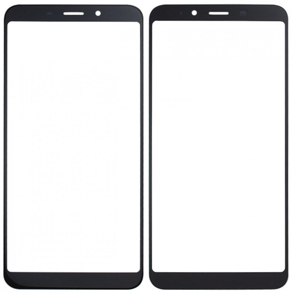 Сенсорное стекло (тачскрин) для Meizu M6s, черное