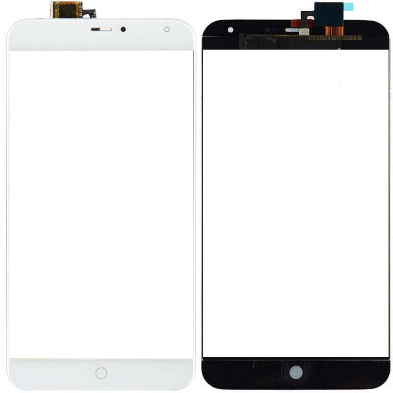 Сенсорное стекло (тачскрин) для Meizu MX4, белое