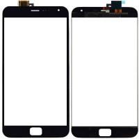 Сенсорное стекло (тачскрин) для Meizu MX4 Pro, черное