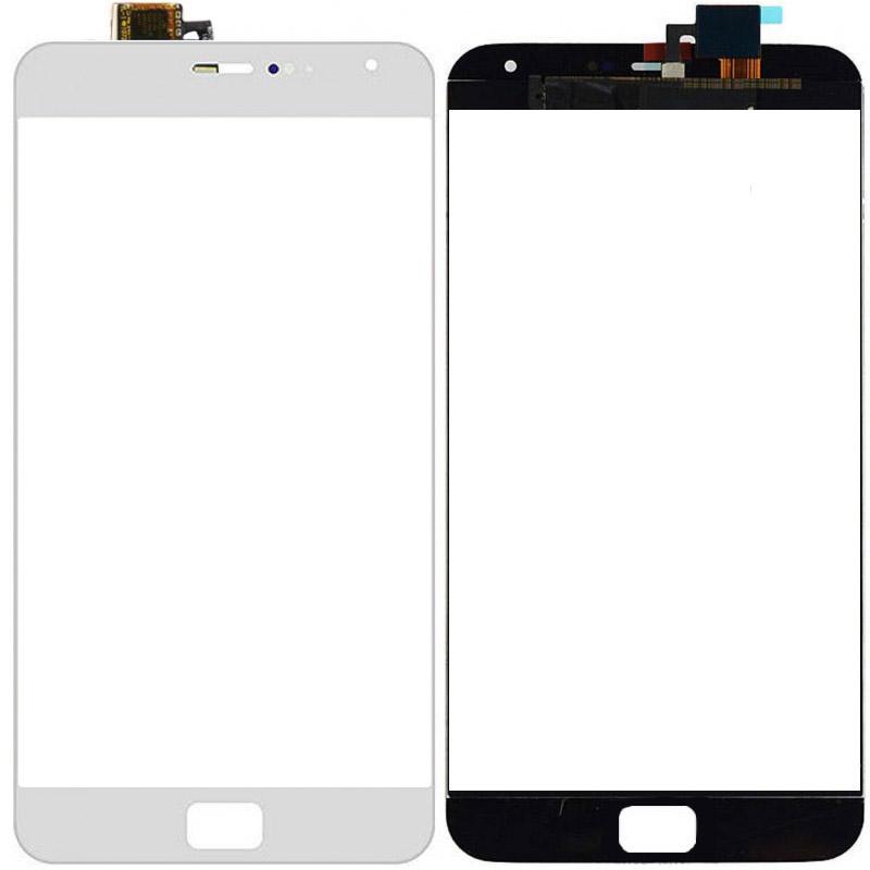 Сенсорное стекло (тачскрин) для Meizu MX4 Pro, белое