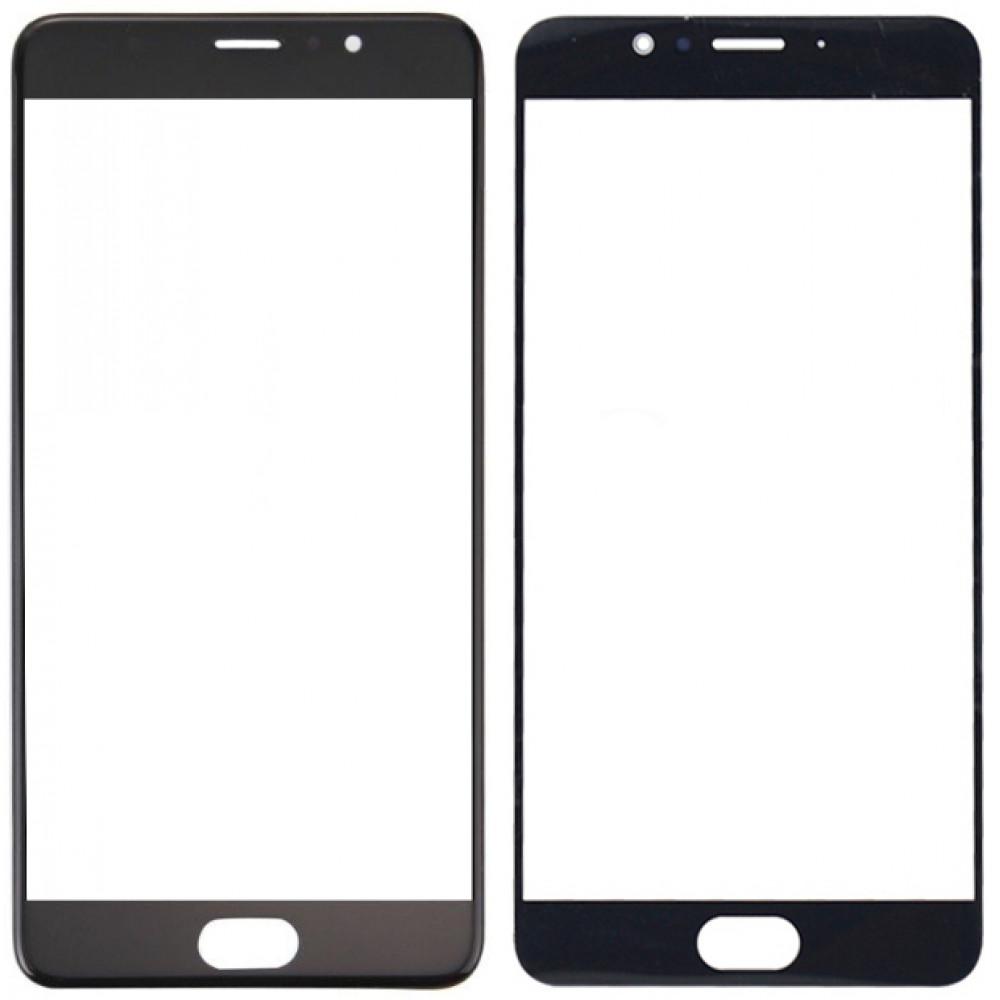 Сенсорное стекло (тачскрин) для Meizu Pro 6 Plus, черное