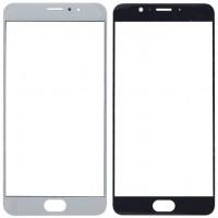 Сенсорное стекло (тачскрин) для Meizu Pro 6 Plus, белое