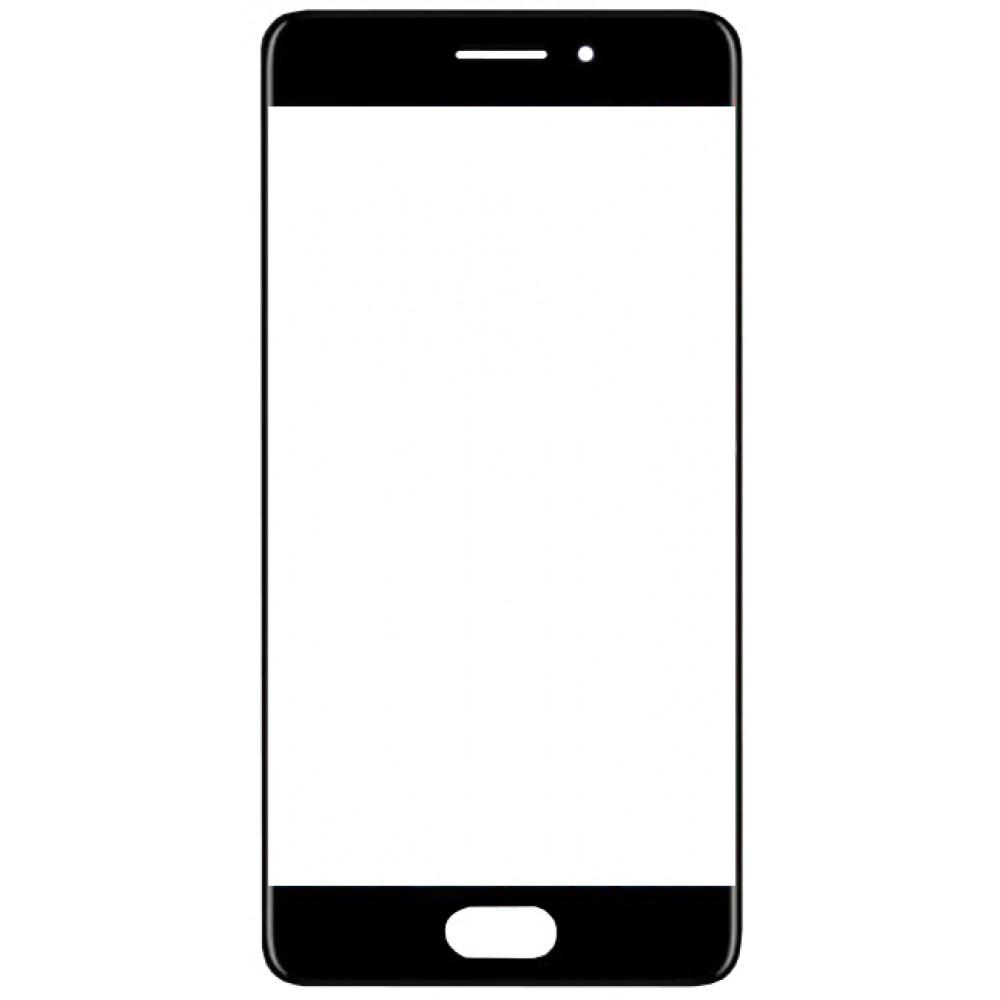 Сенсорное стекло (тачскрин) для Meizu Pro 7 Plus, черное