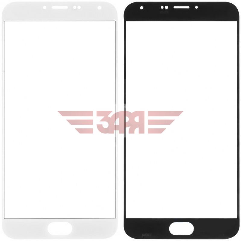 Сенсорное стекло (тачскрин) для Meizu MX5 белое