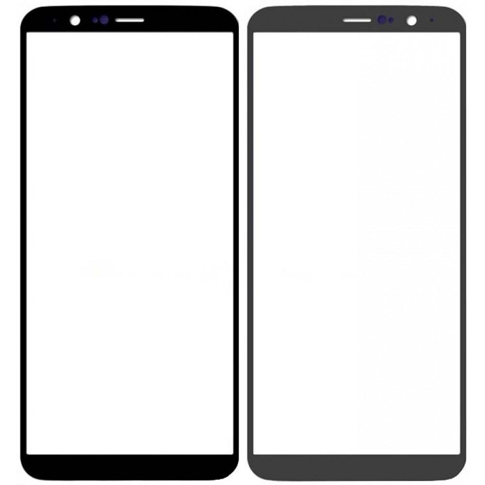 Сенсорное стекло (тачскрин) для OnePlus 5T, черное