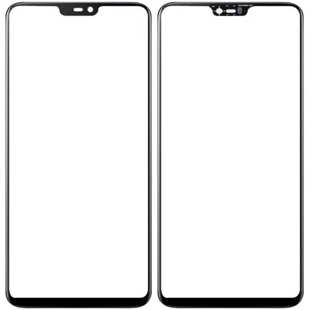 Сенсорное стекло (тачскрин) для OnePlus 6, черное