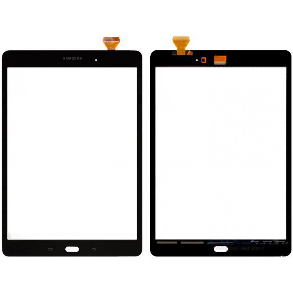 Сенсорное стекло (тачскрин) для Samsung Galaxy Tab A 9.7 (T550) черное