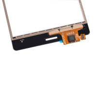 Сенсорное стекло (тачскрин) для Sony Xperia Z3, черное