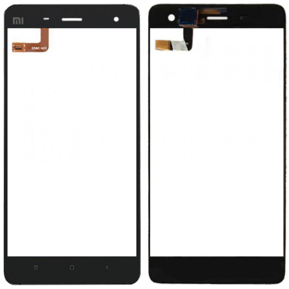 Сенсорное стекло (тачскрин) для Xiaomi Mi4, черное