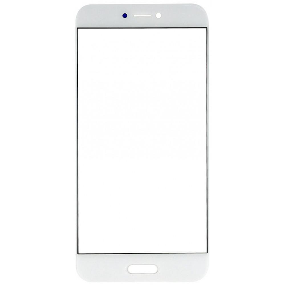 Сенсорное стекло (тачскрин) для Xiaomi Mi 5С, белое