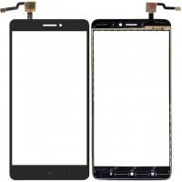 Сенсорное стекло (тачскрин) для Xiaomi Mi Max 2, черное