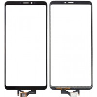 Сенсорное стекло (тачскрин) для Xiaomi Mi Max 3, черное