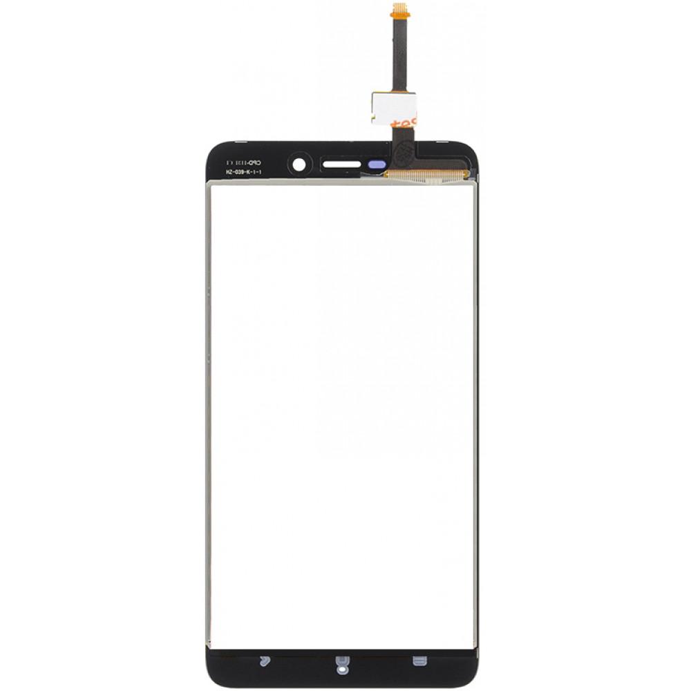 Сенсорное стекло (тачскрин) для Xiaomi Redmi 4A, черное