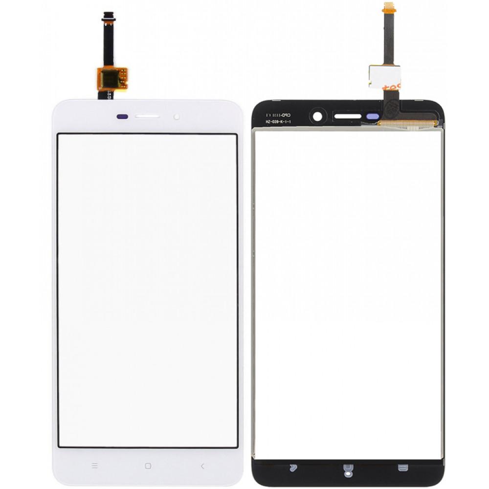 Сенсорное стекло (тачскрин) для Xiaomi Redmi 4A, белое