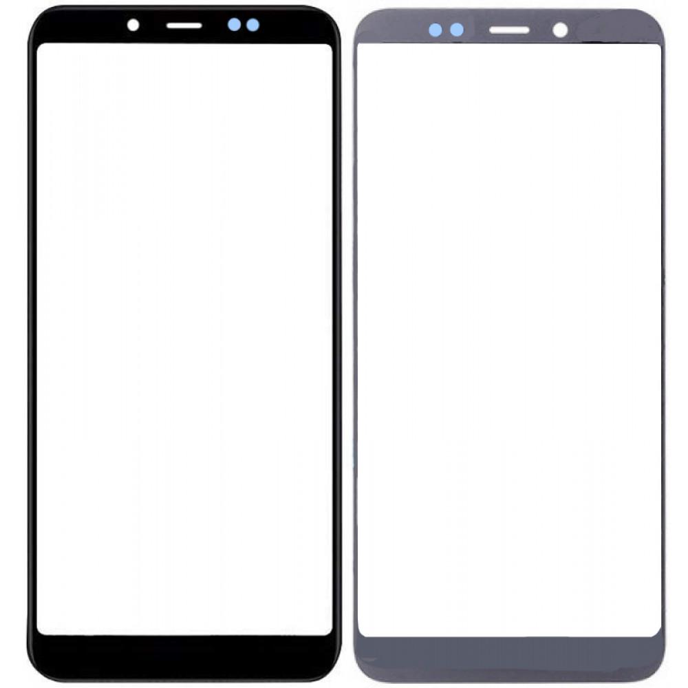 Сенсорное стекло (тачскрин) для Xiaomi Redmi Note 5 / Redmi Note 5 Pro, черное
