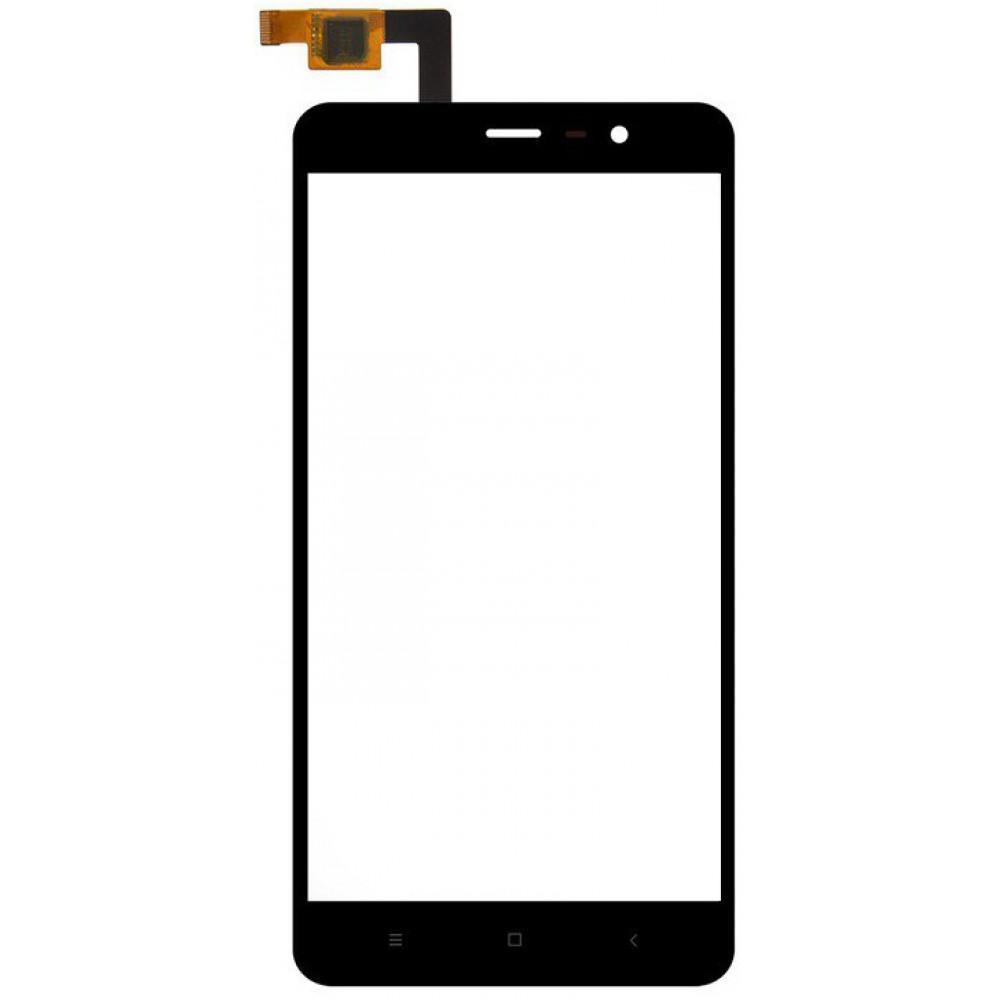 Сенсорное стекло (тачскрин) для Xiaomi Redmi Note 3 / Redmi Note 3 Pro, черное