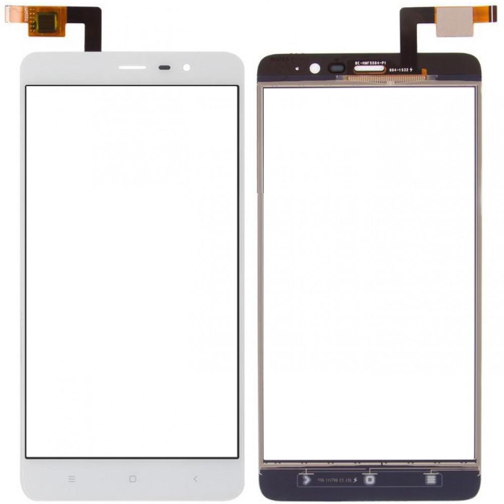 Сенсорное стекло (тачскрин) для Xiaomi Redmi Note 3 Pro SE, белое