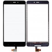 Сенсорное стекло (тачскрин) для Xiaomi Redmi Note 4, черное