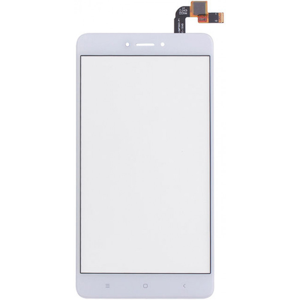 Сенсорное стекло (тачскрин) для Xiaomi Redmi Note 4X, белое
