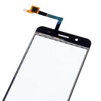 Сенсорное стекло (тачскрин) для ZTE Blade A610 Plus, белое