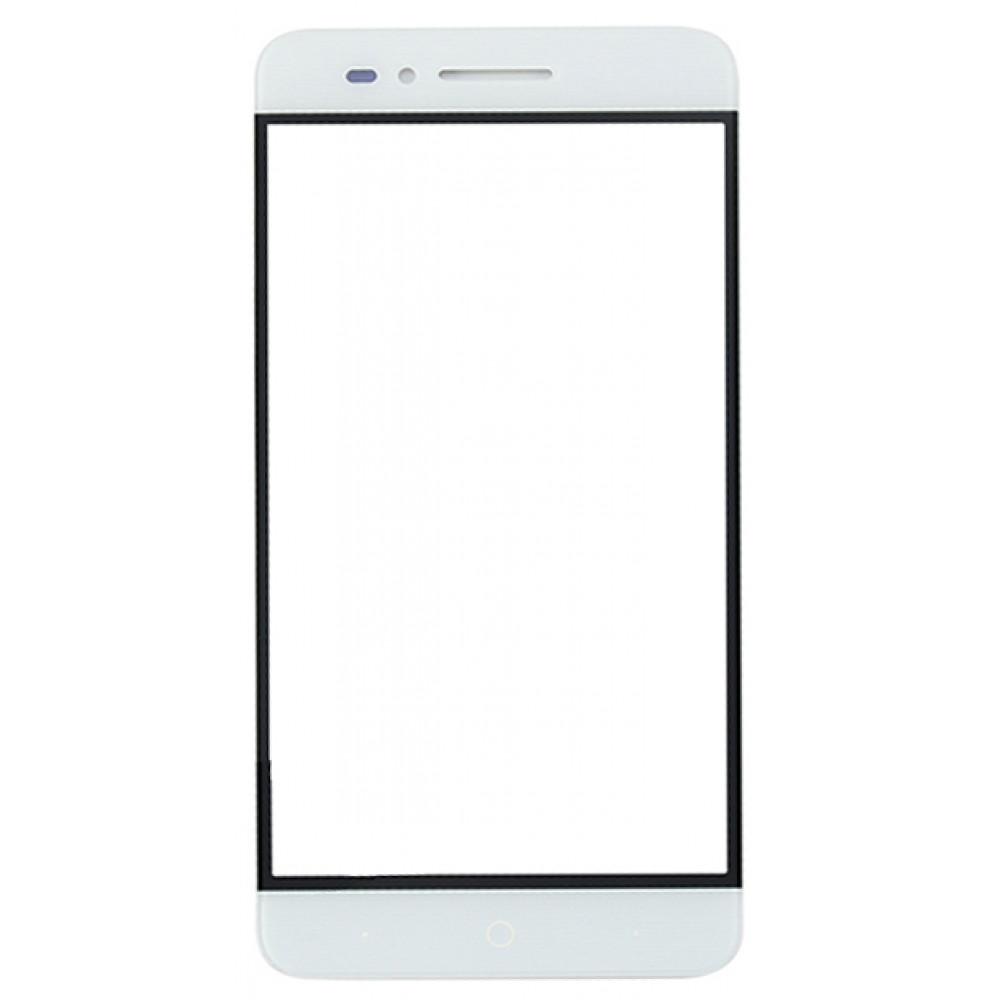 Сенсорное стекло (тачскрин) для ZTE Blade A610, белое