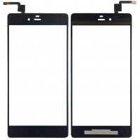 Сенсорное стекло (тачскрин) для ZTE Nubia Z9 Max, черное
