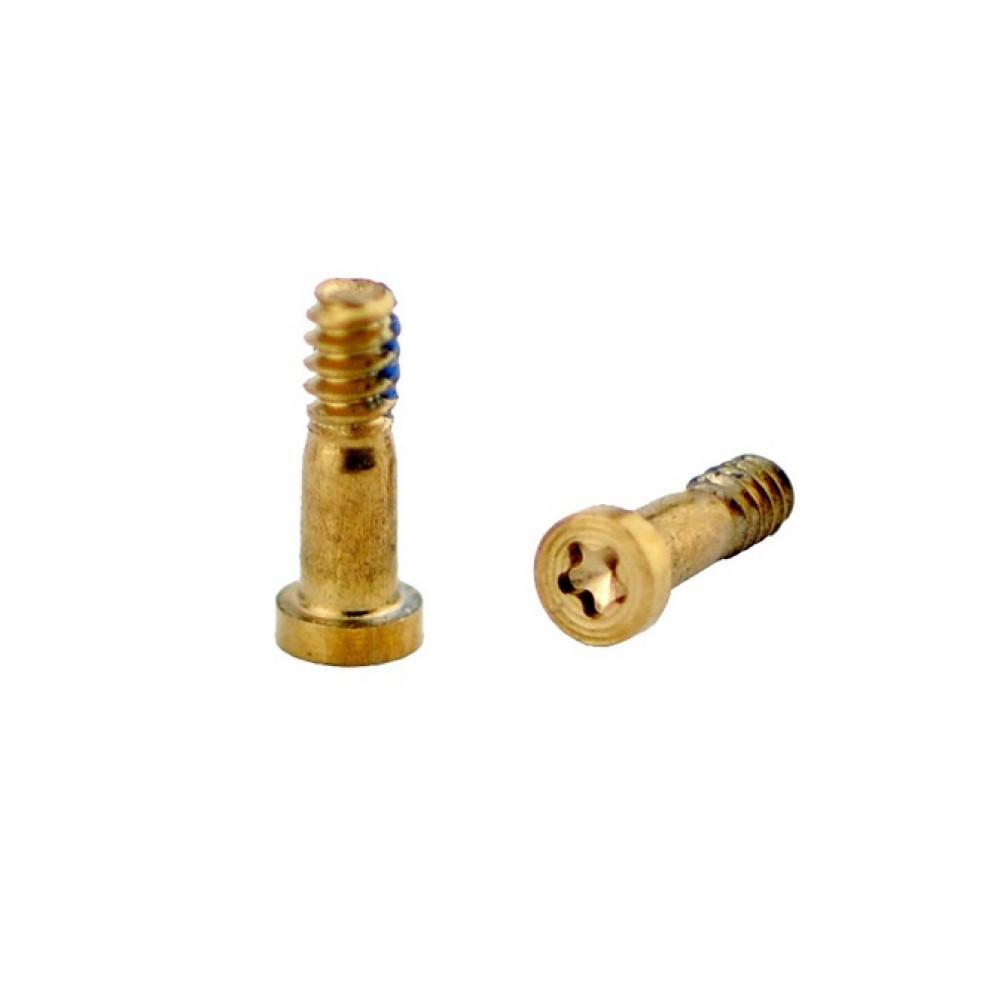 Нижние винты для iPhone 5/ 5S/ 6/ 6S Gold
