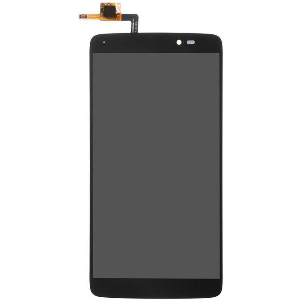 Дисплей для Alcatel One Touch Idol 3 (6045Y) в сборе с тачскрином, черный