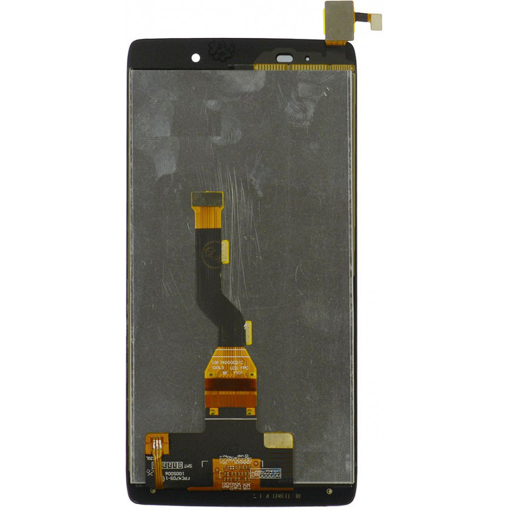Дисплей для Alcatel One Touch Idol 3 Mini LTE (6039Y) в сборе с тачскрином, черный