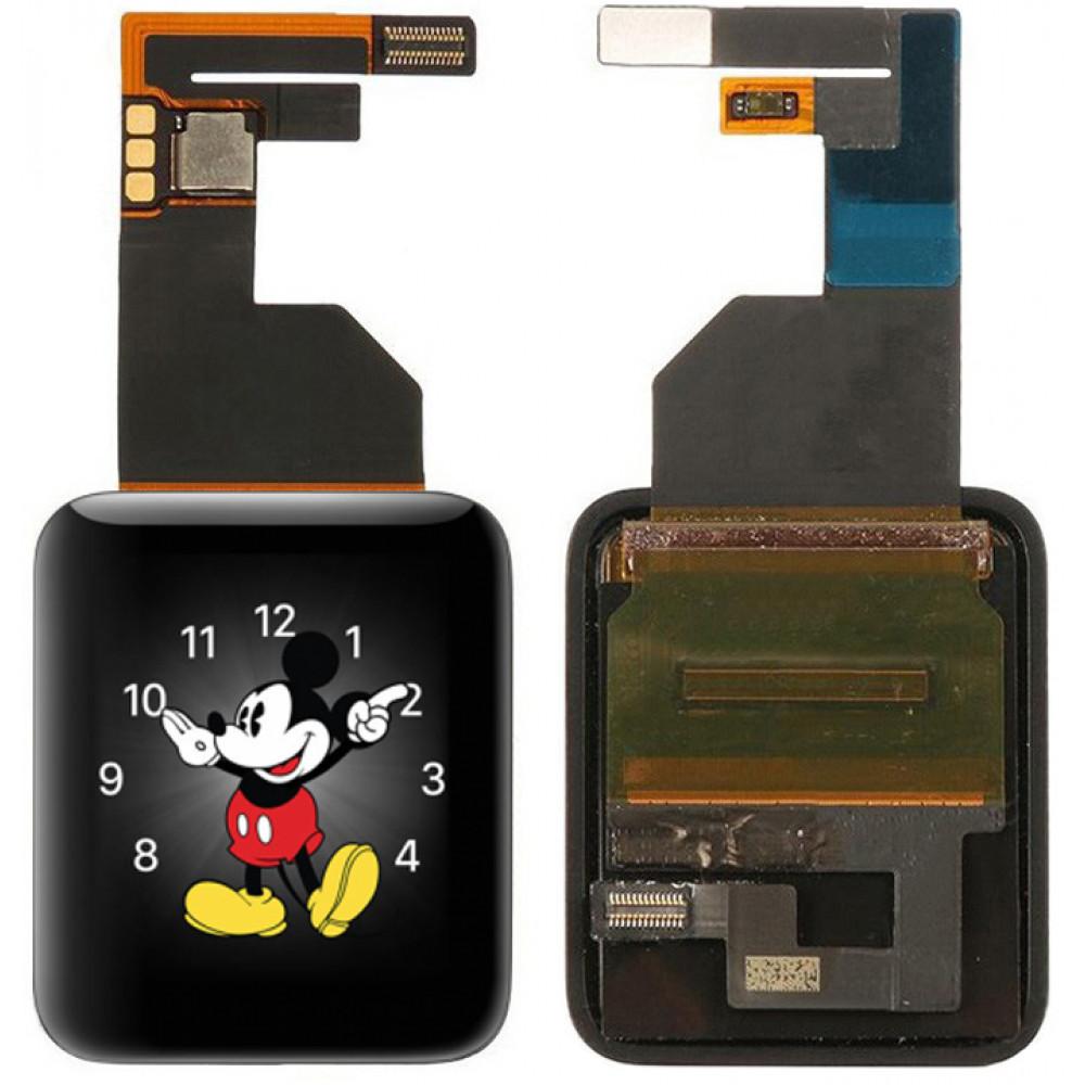 Дисплей для Apple Watch Series 1 (42 мм) в сборе с тачскрином, черный