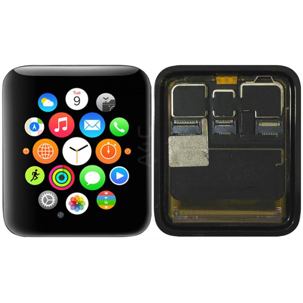 Дисплей для Apple Watch Series 2 (42 мм) в сборе с тачскрином, черный