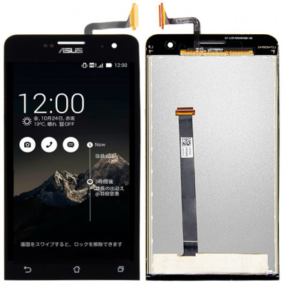 Дисплей для Asus Zenfone 5 (A500KL / A501CG) в сборе с тачскрином, черный