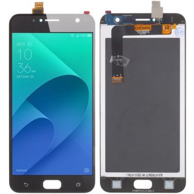 Дисплей для Asus Zenfone 4 Live (ZB553KL) в сборе с тачскрином, черный