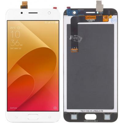 Дисплей для Asus Zenfone 4 Live (ZB553KL) в сборе с тачскрином, белый