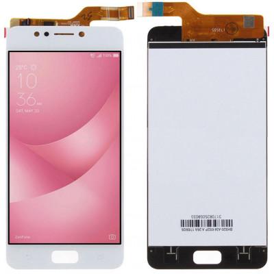 Дисплей для Asus Zenfone 4 Max (ZC520KL) в сборе с тачскрином, белый