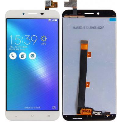Дисплей для Asus Zenfone 3 Max (ZC553KL) в сборе с тачскрином, белый