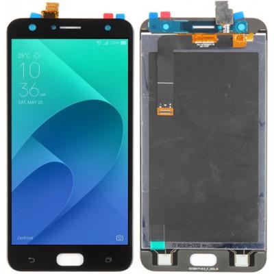 Дисплей для Asus Zenfone 4 Selfie (ZD553KL) в сборе с тачскрином, черный