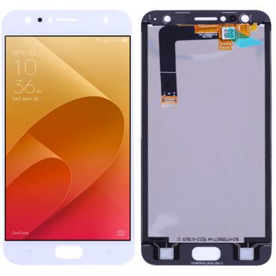 Дисплей для Asus Zenfone 4 Selfie (ZD553KL) в сборе с тачскрином, белый