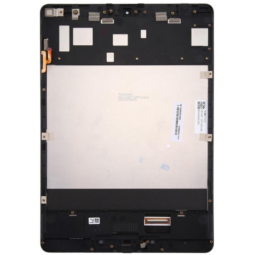 Дисплей для ASUS ZenPad 3S 10 (Z500KL) в сборе с тачскрином и рамкой, черный
