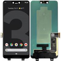 Дисплей для Google Pixel 3 XL в сборе с тачскрином, черный