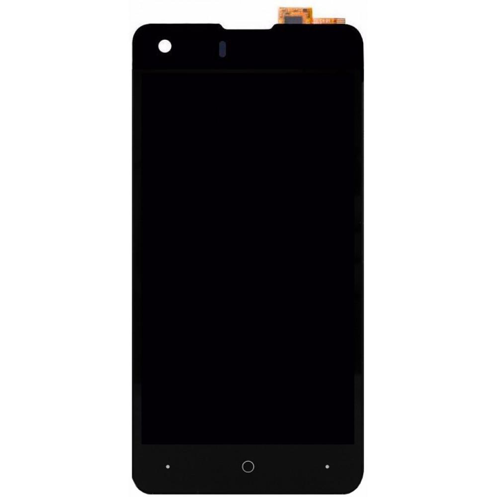 Дисплей для Highscreen Omega Prime S в сборе с тачскрином, черный
