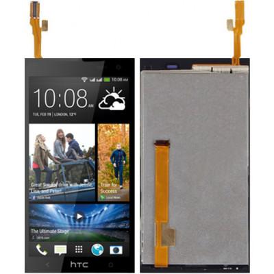 Дисплей для HTC Desire 600 Dual в сборе с тачскрином, черный
