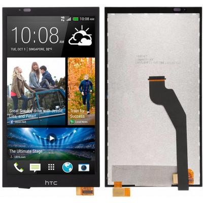 Дисплей для HTC Desire 816 Dual в сборе с тачскрином, черный