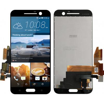 Дисплей для HTC 10 (One M10) в сборе с тачскрином, черный