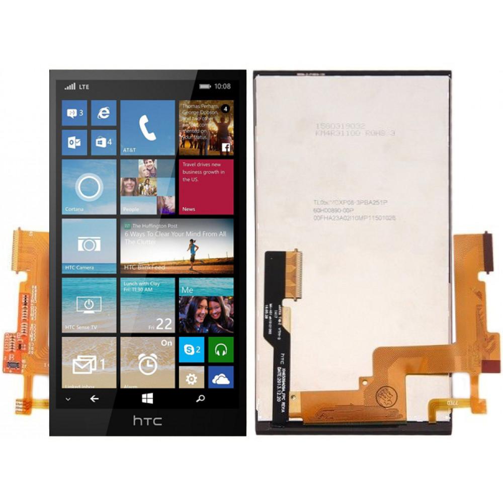 Дисплей для HTC One M8 в сборе с тачскрином, черный